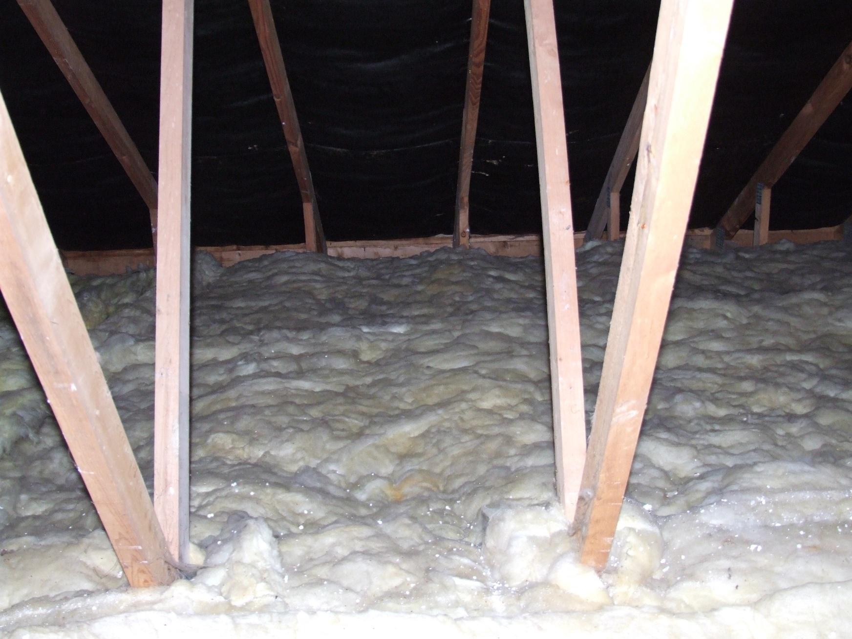 Isolation combles perdus laine de verre cheap panneau de - De quel cote poser la laine de verre ...