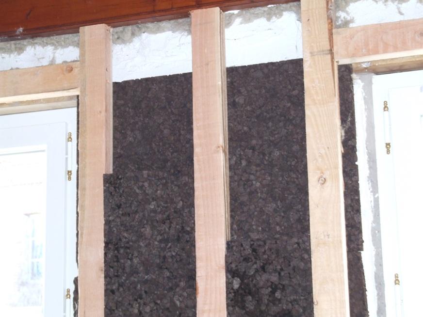 isolation int rieure en panneaux de li ge. Black Bedroom Furniture Sets. Home Design Ideas